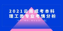 2021云南成考本科理工类专业考情分析