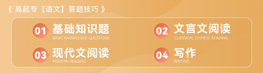 2021年云南省成人高考高起专【语文】答题技巧